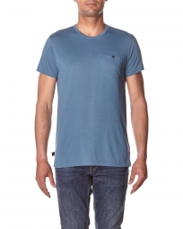 oakley tee shirt icon pocket bleu