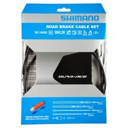 shimano kit cables et gaines frein dura ace 9000 noir