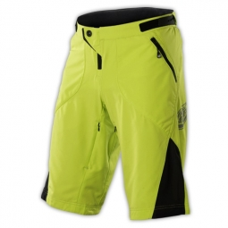 troy lee designs short ruckus jaune noir