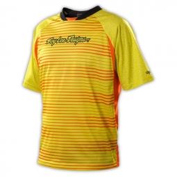 troy lee design maillot skyline jaune orange