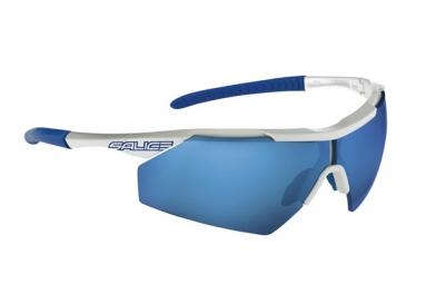 salice paire de lunettes 004rw blanc bleu