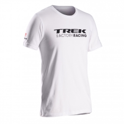 bontrager 2014 t shirt trek factory racing blanc