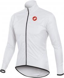 castelli veste squadra long jacket blanc