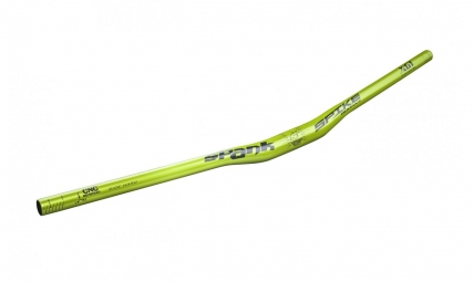 spank cintre spike race evo releve 15mm 31 8x800mm vert emerald