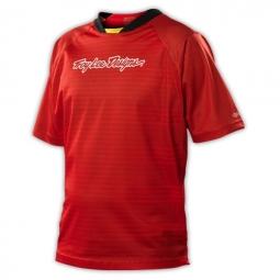 troy lee design maillot skyline rouge