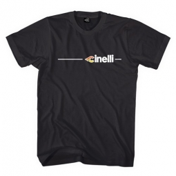 cinelli tee shirt supercorsa noir