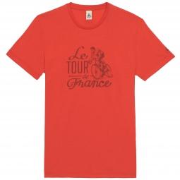 le coq sportif t shirt tour de france n 10 rouge