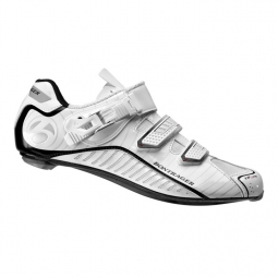 chaussures route bontrager race lite road blanc