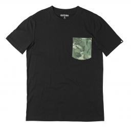 etnies tee shirt lombard noir