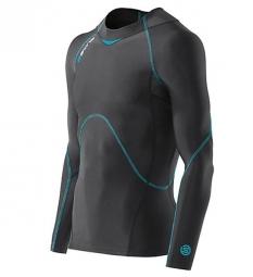 skins maillot compression coldblack noir homme