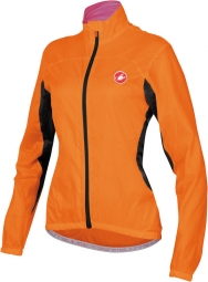 castelli veste femme velo w orange