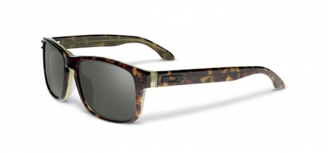 oakley lunettes holbrook lx marron gris ref oo2048 01