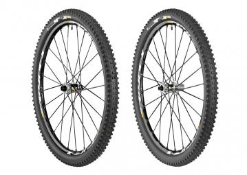 mavic paire de roues crossmax xl pro 29 av 15mm ar 12x142mm corps xd pneu quest 2 25