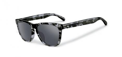 oakley lunettes frogskins lx dark gris noir iridium ref oo2043 08