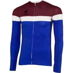 le coq sportif maillot manches longues new erco bleu