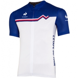 le coq sportif maillot manches courtes officiel etape du tour