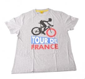 le tour de france t shirt graphic vintage tdf grey