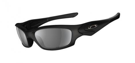 oakley paire de lunettes straight jacket black grey polarises ref 24 124