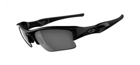 oakley paire de lunettes flak jacket xlj jet black black iridium ref 03 915