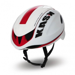 kask casque infinity blanc rouge