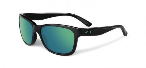 oakley lunettes femme forehand noir vert iridium oo9179 28