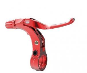 promax levier de frein v point mini rouge