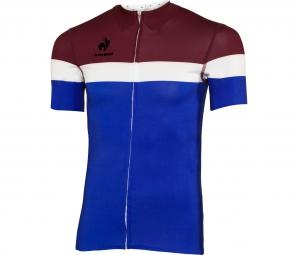 le coq sportif maillot manches courtes new arac cobalt