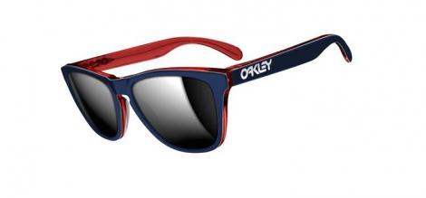 oakley lunettes frogskins lx navy chrome iridium oo2043 05