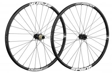 spank paire de roues oozy trail 295 26 15mm 12x142mm noir