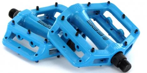 sb3 pedales fast bleu aluminium