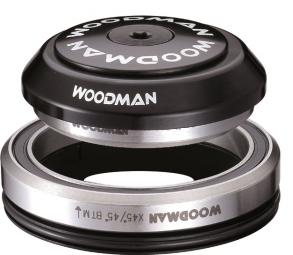 woodman jeu de direction integre conique axis ic 1 1 8 1 5 xs spg comp 7 noir