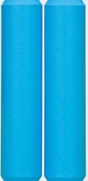 esi paire de grips extra chunky silicone bleu aqua 34mm