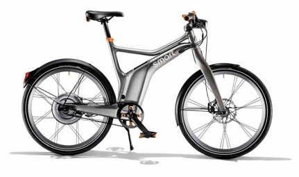 smart 2014 velo complet e bike electric gris