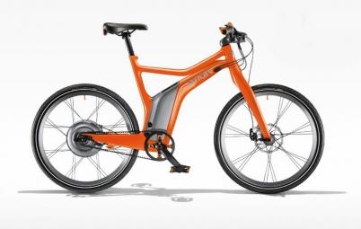 smart velo complet e bike electric orange