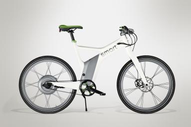 smart 2014 velo complet e bike electric blanc vert