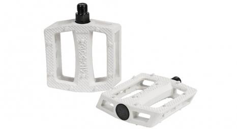 shadow pedales plastique ravager blanc