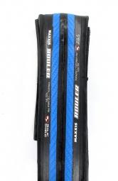 maxxis pneu rouler 120tpi 700x23 bleu tb81793500