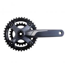 sram pedalier x7 non inclus gxp 2x10 vitesses 28 42 gris