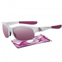 oakley lunettes femme commit squared blanc rose iridium 24 176