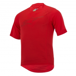 alpinestars tee shirt krypton rouge