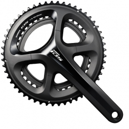 shimano pedalier 105 5800 2x11 vitesses compact 50 34 dents noir