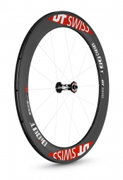 dt swiss roue avant carbone rrc di cut 66mm a pneu
