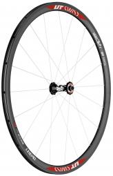 dt swiss roue avant carbone rrc di cut 32mm a boyau