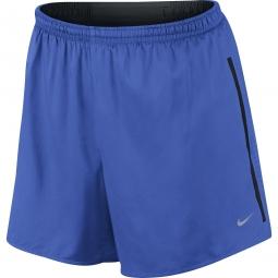 nike short raceday 12 5cm bleu homme