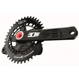rotor 2015 pedalier cyclo cross 3d cx1 bb30 bcd 110mm axe alu