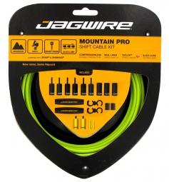 jagwire kit derailleurs mountain pro vert organique