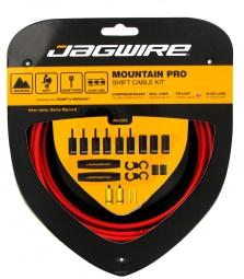 jagwire kit derailleurs mountain pro rouge