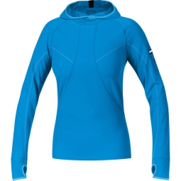 gore running wear maillot femme air lady bleu