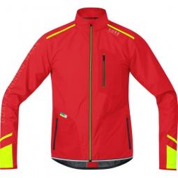gore running wear veste x run ultra windstopper rouge
