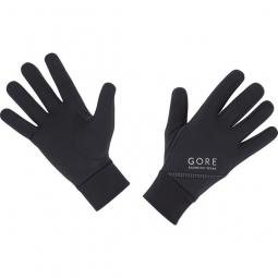 gore running wear paire de gants essential noir